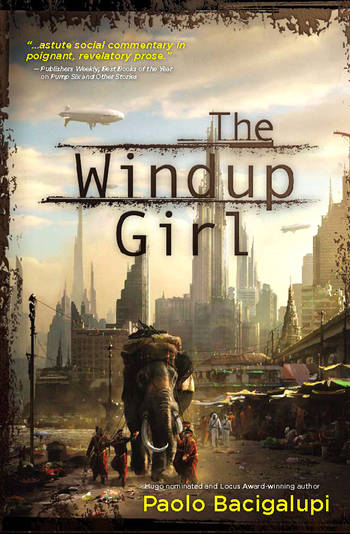 The Windup Girl - cover